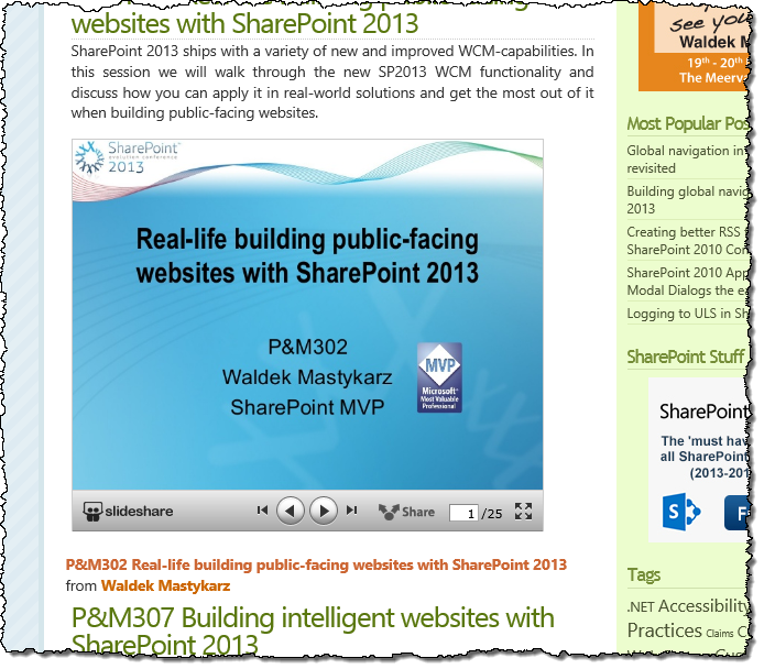 SlideShare Presentation Embed - Viral Media Marketing