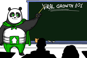 viral marketing hero - section 1 - upshare