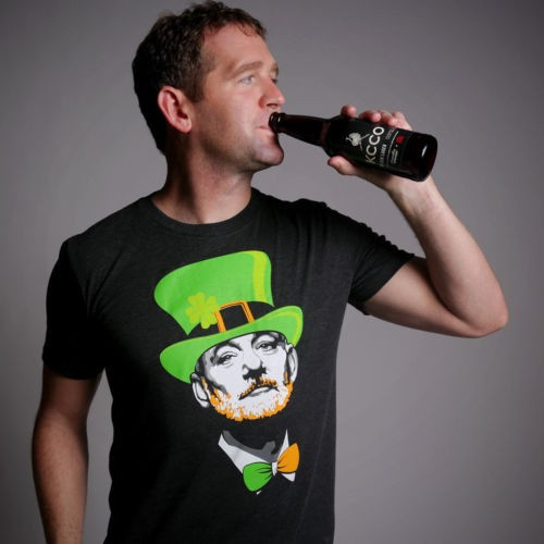 The Chive Bill Murray St. Patrick's Day T-Shirt - Offline Viral Word of Mouth Marketing