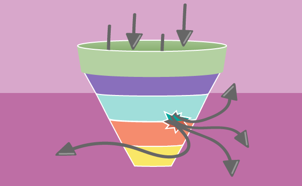 Sales Funnel Leak - Viral Carrier