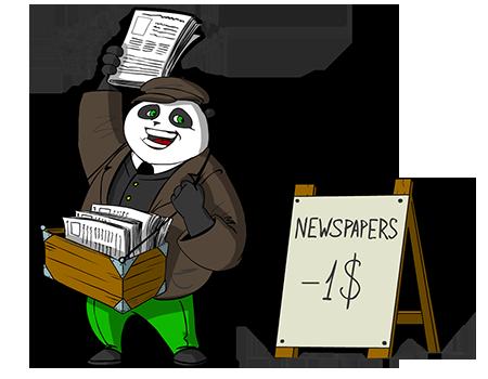 viral marketing panda