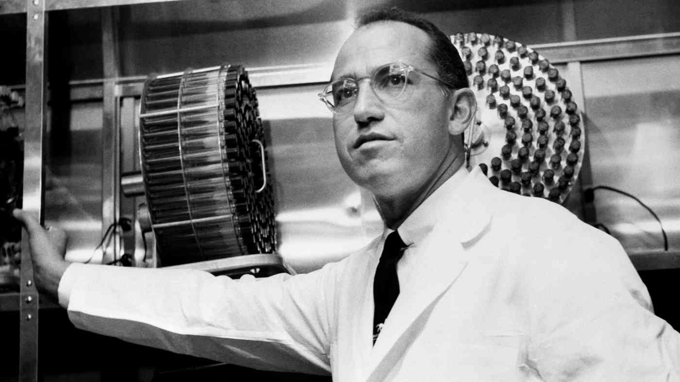 Dr. Jonas Salk Polio Cure