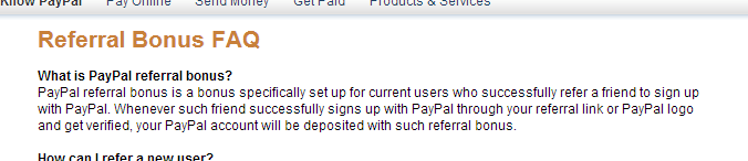 Paypal Referral Bonus - Viral Incentive Marketing