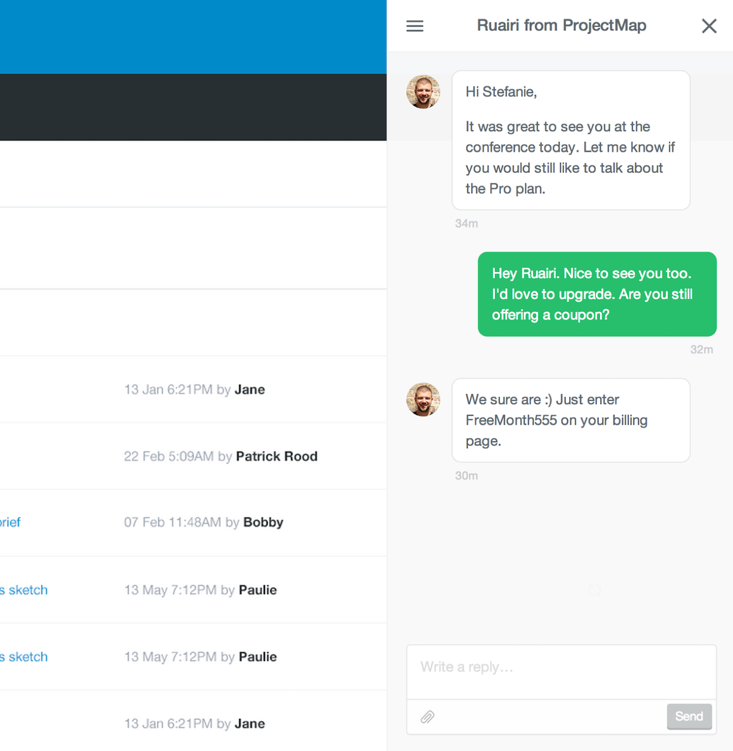 Intercom Live Chat Tool - Viral Infection
