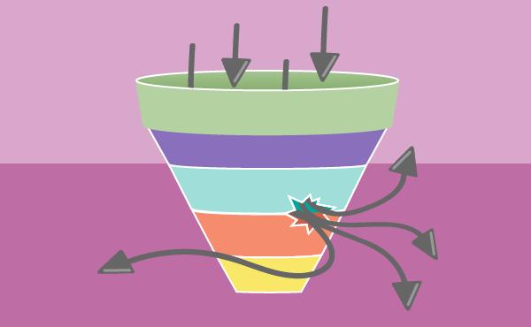Sales Funnel Leak - Viral Carrier