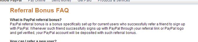 Paypal Referral Bonus - Viral Incentive Marketing