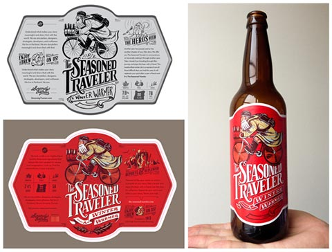 The Seasoned Traveler Beer from Sincerely Truman - Offline Viral Word of Mouth Marketing