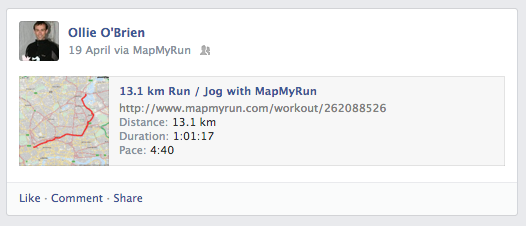 MapMyRun - Viral Transaction Marketing