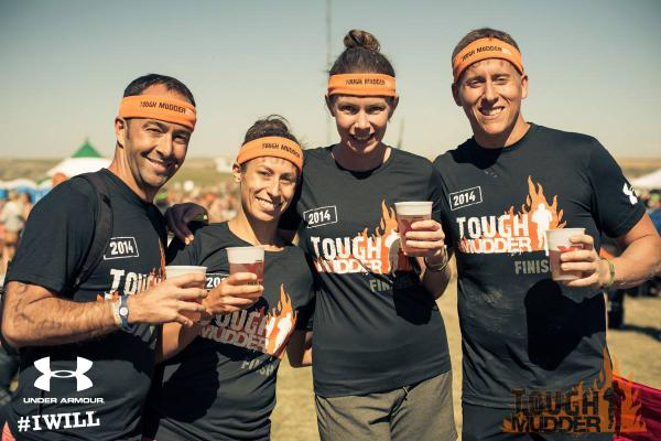 Tough Mudder Orange Headband - Viral Transaction Marketing