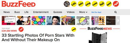 Buzzed Click Bait Headline - Online Word of Mouth Marketing