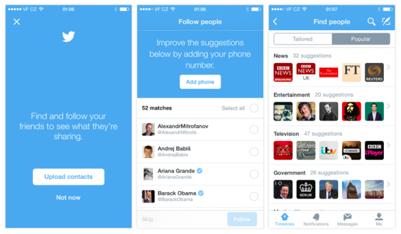 Twitter Onboarding Sign-Up Follow People - Viral Engineering